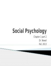 2. Social Psychology Introduction chapter 1 part 2.pptx