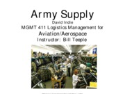 Army Supply