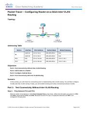 6.3.3.6 Packet Tracer - Configuring Router-on-a-Stick Inter-VLAN Routing Instructions.docx