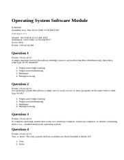 Operating System Software Module.html