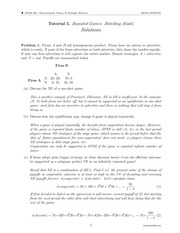 ECON 302 Fall 2014 Tutorial 5 Solutions