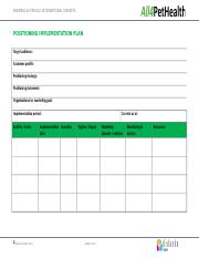 Assessment 4C Positioning implementation plan template.docx