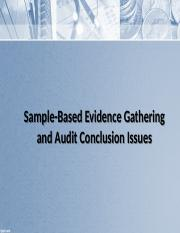 Sample-Based+Evidence+Gathering+and+Audit+Conclusion+Issues.pptx