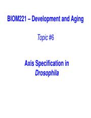 2015DA06-Axis Specificationin Drosophila
