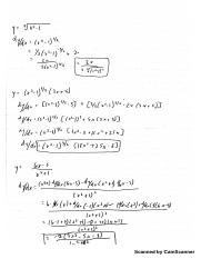 Project 2 Calculus