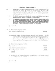 TAX4001 - Answers Chapter 4