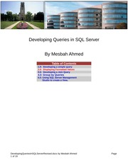 007_DevelopingQueriesInSQLServerRevised
