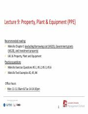 Lecture 9 2018 property plant equipment.pdf