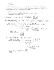 Test 1B Solutions