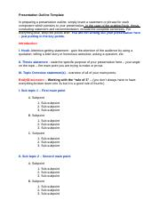 Presentation Outline Template (2)