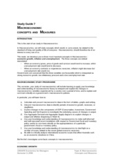 Study_Guide_Week_7_201103_final_Macreconomic_Concepts_and_Measures