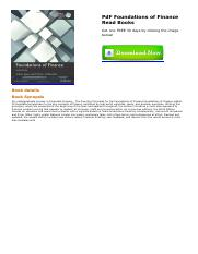 Foundations of financepdf pdf foundations of finance free this is the end of the preview sign up to access the rest of the document fandeluxe Images
