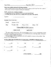 Chem102 Exam3 2013 Solutions