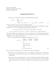 Supplemental Notes-1