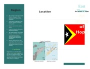 East Timor Travel Brochure.docx