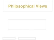 PHI 105 Week 1 Assignment  Philosophical Views Comparison