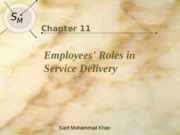 Lec 09 Employees Roles in Service Delivery