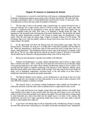 Chapter 10 Answers to Questions for Review