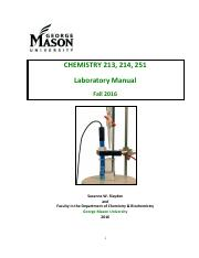 Chem Lab Manual