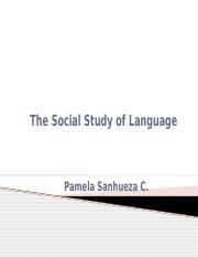 thesocialstudyoflanguage-120102015505-phpapp01