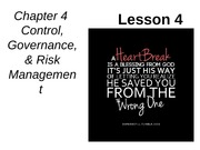 Chap04-Control-Governance-Risk-Mgmt-Lesson-4