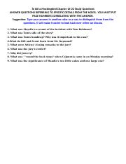 To Kill a Mockingbird Chapter 16-22 Study Questions.docx