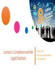 Lecture 2 - Compliance and the Legal Emphasis BUS381 SFU.pdf