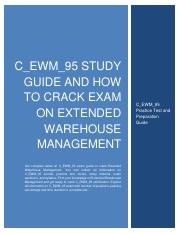 C_EWM_95_Study_Guide_and_How_to_Crack_Ex.pdf