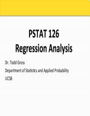 PStat 126 F15 Lecture 8