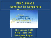 FINC+858-05+-Lecture6-Audit+Committee