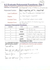 PolynomialEvaluationNotes
