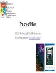 Online Lecture 2- Theory of EthicsKF3283 - Theory of Ethics - Simplified.pdf.ppt