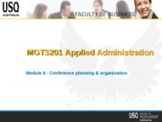MGT3201_mod8_conference_planning