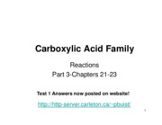 2009 9 Carboxylic Acid _Family III