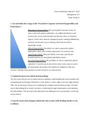 MGMT Study Guide #2