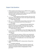 Chapter 5 Quiz Questions