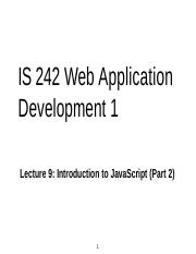 is242-lecture-9 JS2