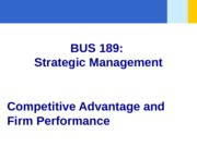 PPT FILE - Chapter 05 - Competitive Advantage - student