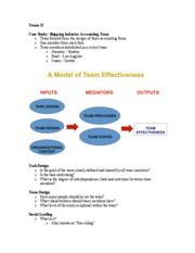 Teams II-Lecture