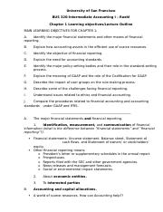 BUS 320 Chp 1 Lecture Outline (1)