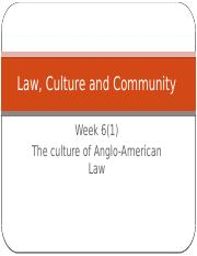 Law, Culture and Community Week 6(1).pptx