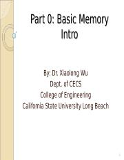 Part 00_Memory Intro.ppt