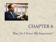 Chapter 6 How do I Prove My Argument Student Version
