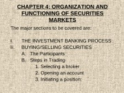 FIN640_CHAPTER4_SECURITIES_TRADING
