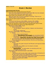 Exam 1 review guide