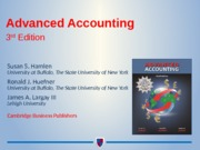 Advanced Accounting ch.3