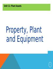 Unit 11 Plant Assets Powerpoint For Students.ppt