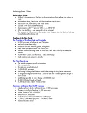 Archeology_Exam_2_Notes