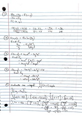 Function and Integral Examples