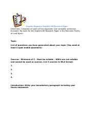 Graphic Organizer English 12B Research Paper.docx